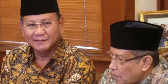 Prabowo Lobi PP Muhammadiyah dan PBNU