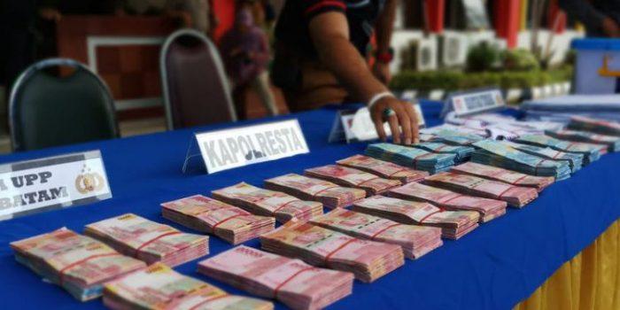 Uang Senilai Rp 274,3 Juta Disita Tim Saber Pungli Kota Batam