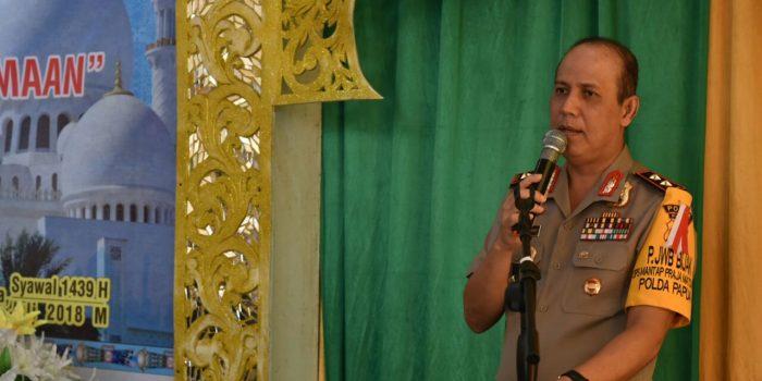 Kapolda Papua Hadiri Acara Halal Bihalal di Kantor Kementerian Agama Jayapura