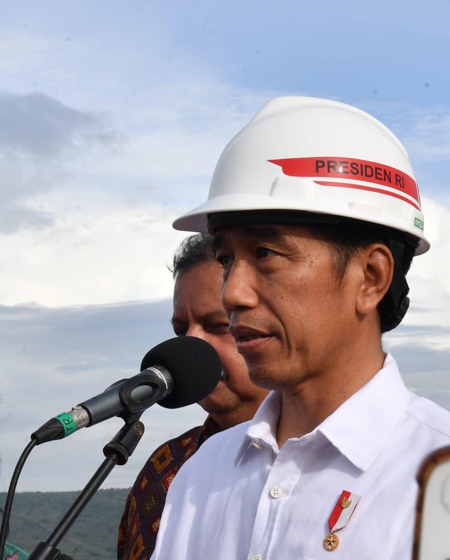 PLTB Terbesar di Indonesia Diresmikan Presiden Jokowi