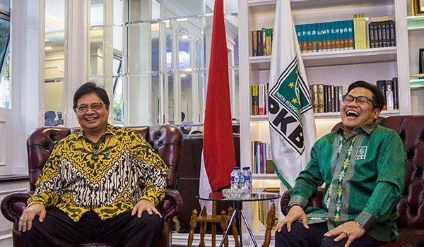 Airlangga Hartarto lakukan Safari Politik di Kantor DPP PKB
