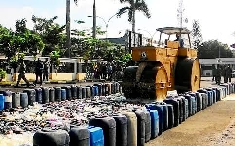 151 Batang Ganja dan 2755 Liter Miras Dimusnahkan Polres Nias Selatan