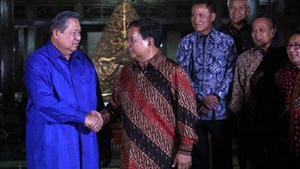 Rabu, Prabowo dan SBY Bertemu di Kuningan Timur