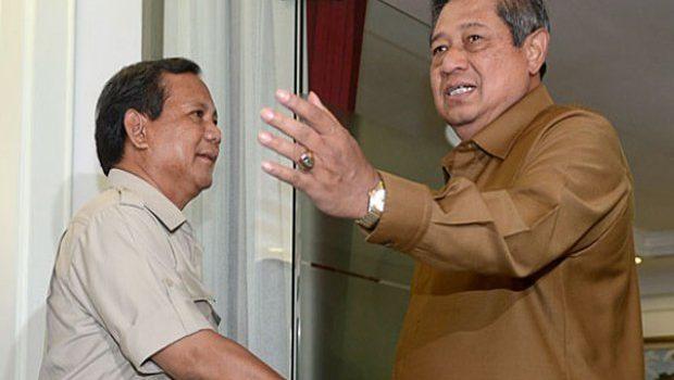 SBY Balas Kunjungan Prabowo pada Selasa Lalu