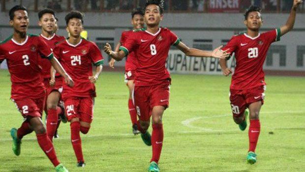 Timnas Indonesia U-16 Pencundangi Filipina 8-0