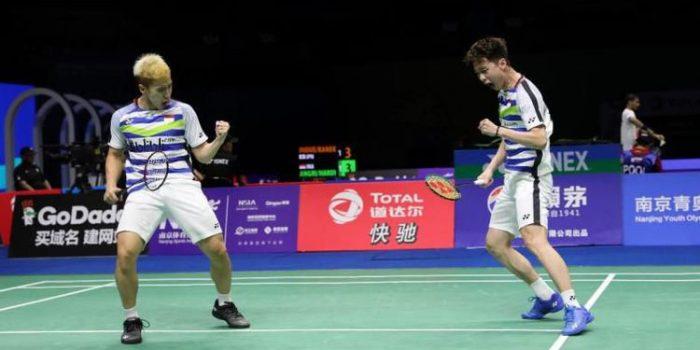 Kevin/Markus Melaju, Fajar/Rian Terhenti di China Open