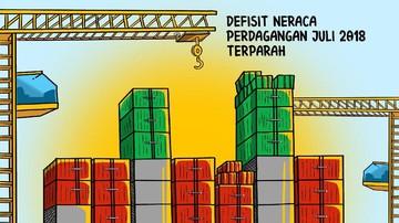 Indonesia Terburuk Kedua di Asia Tenggara untuk Neraca Perdagangan