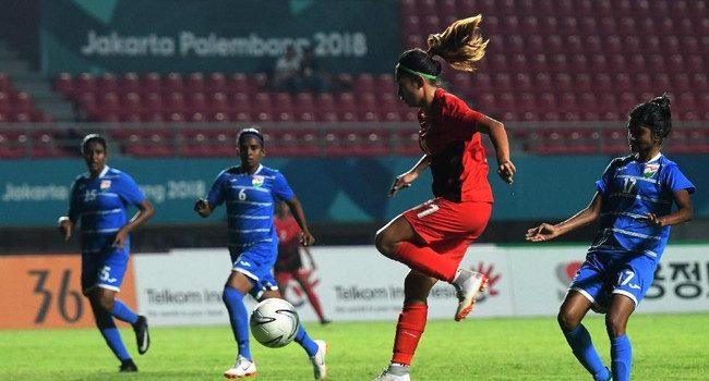 Timnas Putri Indonesia Tekuk Maladewa 6-0