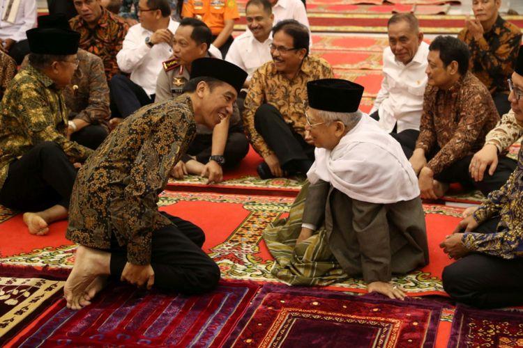 Dijadwalkan Pagi Ini Jokowi – Ma'ruf Amin Daftar ke KPU