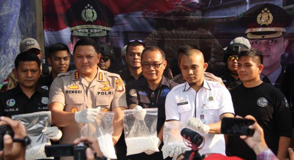 Polres Metro Jakarta Barat Bongkar Pabrik Shabu di Kota Tangerang Beromzet Miliaran Rupiah