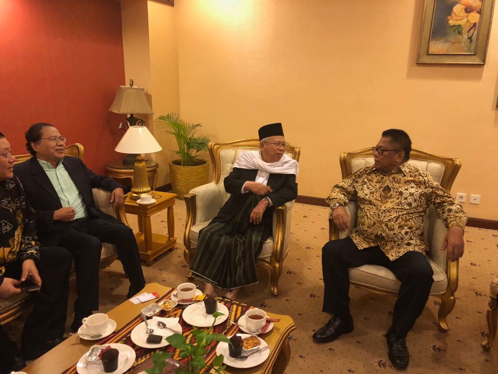 RR Masuk Tim Pemenangan Jokowi – Ma'ruf Hoaks