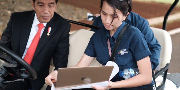Laura Puspa Sumolang Keke Kawanua Dibalik Sukses Opening Ceremony Asian Games