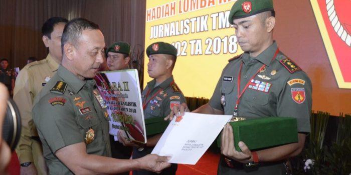 Kodam IV Borong Juara Lomba Karya Jurnalistik