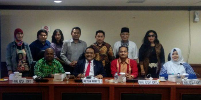 Komite I DPD-RI Siap Perjuangkan Nasib Puluhan Ribu Media