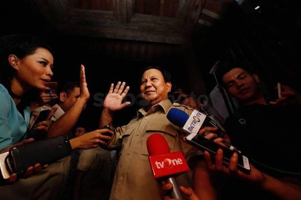 Tentukan Cawapres, Prabowo Butuh Ketenangan