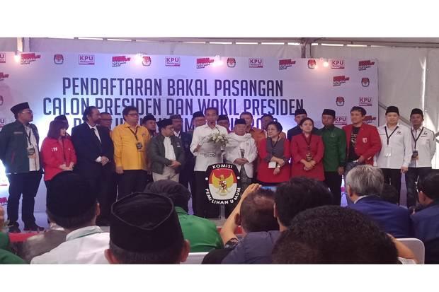 Jokowi : Demokrasi bukan Perang