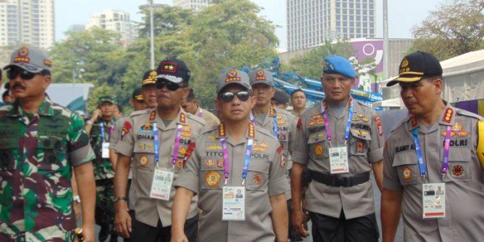Kapolri Pastikan tak Ada Demo Selama Asian Games