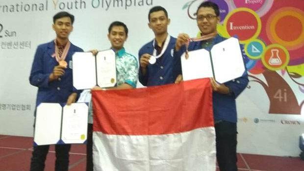 Hebat! 3 Mahasiswa ITS Surabaya Sabet Penghargaan di Korea