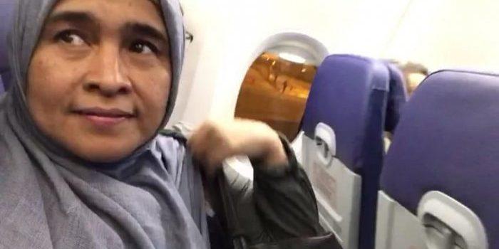 Pilot yang Ijinkan Neno Pakai Mikrofon Pesawat Mengaku Ingin Mati Syahid