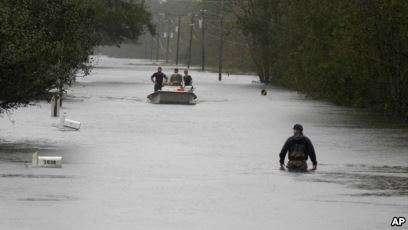 11 Orang Tewas di North Carolina, Akibat Badai Tropis Florence
