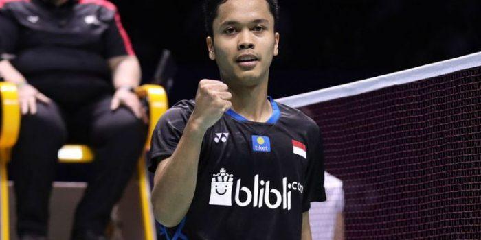 Indonesia Loloskan Tiga Tunggal Putra ke Perempat Final Korea Open