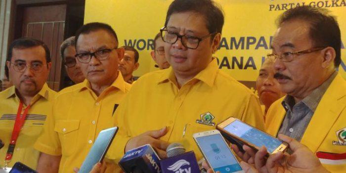 Golkar akan Berjuang Menangkan Jokowi-Ma'ruf