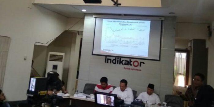 Survei Indikator : 53 Persen Demokrat Pilih Jokowi-Ma'ruf