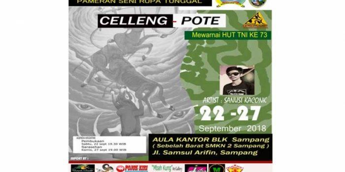 """Pameran Tunggal """"Pote Celleng"""" Bakal Warnai HUT TNI ke-73 di Sampang"""