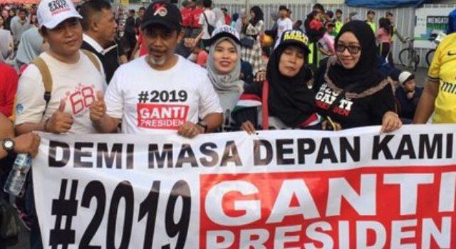 Astaga! Gerakan #2019GantiPresiden Disebut Berhubungan dengan Khilafah