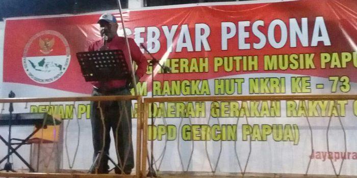DPN Gercin-NKRI Peringati HUT RI ke-73 di Papua