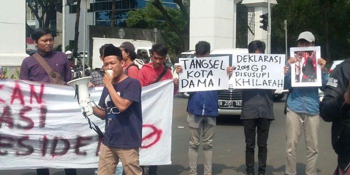 Kamcitas Tentang #2019GantiPresiden di Kota Tangerang Selatan