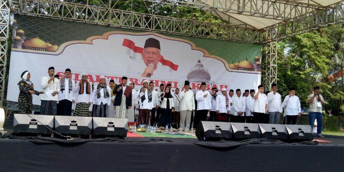 Hadiri Istighosah Nasional, Masyarakat Banten Doakan Pemilu Damai