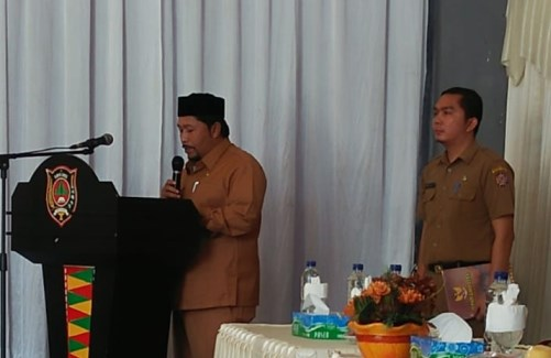 H Said Sani Buka Acara Pelatihan Kesiapsiagaan Hadapi Bencana di Kabupaten Gayo Lues
