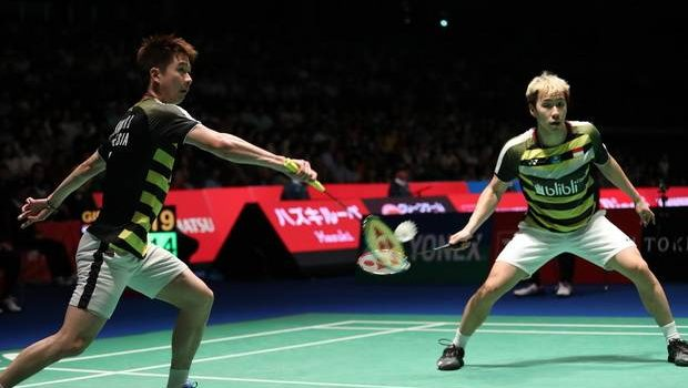 Kevin/Marcus Tantang Ganda Terbaik China di Final Jepang Open