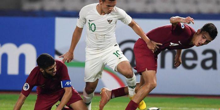 Cetak Rekor, Timnas U-19 Indonesia Kalah 5-6 dari Qatar