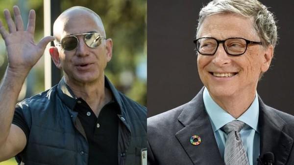 Sejak Juli, Bill Gates tak Mampu Geser Jeff Bezos dalam Daftar Orang Terkaya