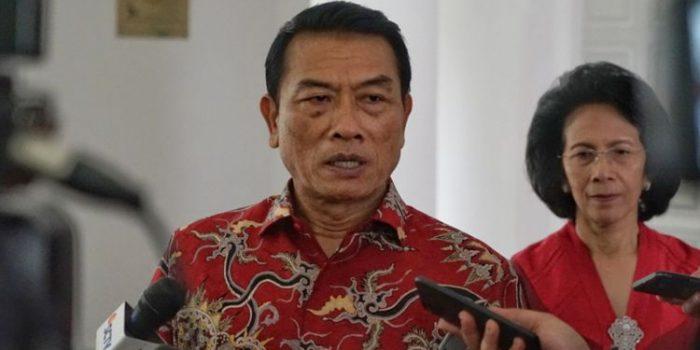 Jokowi Dilapor ke Bawaslu, Moeldoko Sebut Kampungan