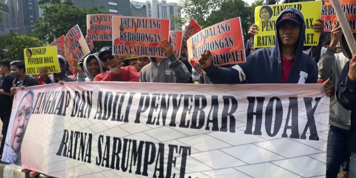 GEPUK Desak Kepolisian Usut Dalang Dibalik Hoax Ratna Sarumpaet