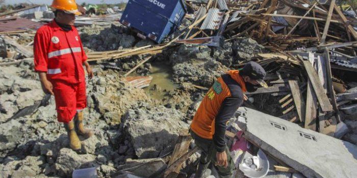 Detik-detik Gempa dan Tsunami di Palu
