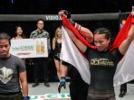 Priscilla Hertarti Taklukan Petarung Filipina dalam Tarung Bebas (MMA) ONE