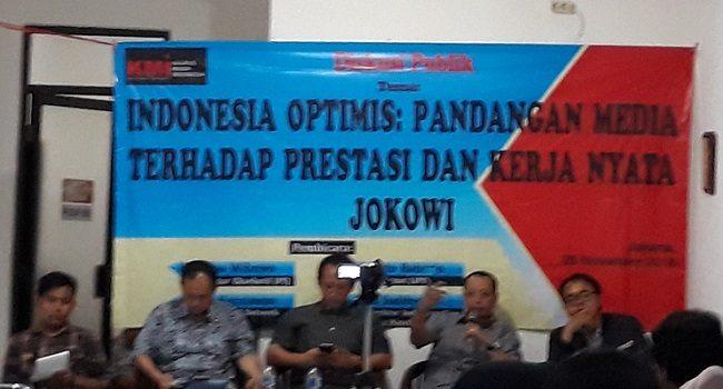 IPI : Head to Head 2 Paslon, Pengaruhi Pandangan Media