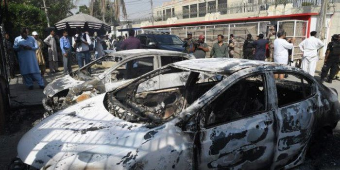 Serangan ke Konsulat China di Karachi, Pakistan Tuding India
