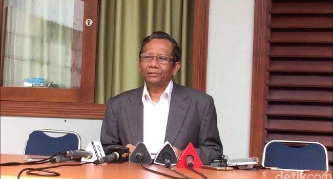 Mahfud MD Tantang Siapa yang Mampu Tunjukan Pemerintahan Khilafah dalam Alquran