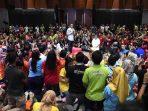 Jokowi Ingatkan Generasi Mileneal Bijak saat Berselancar di Medsos