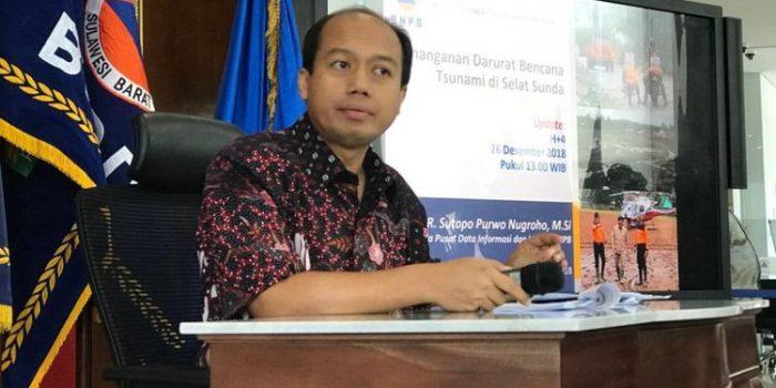 Sutopo : Bencana tak Ada Kaitan dengan Pemilu