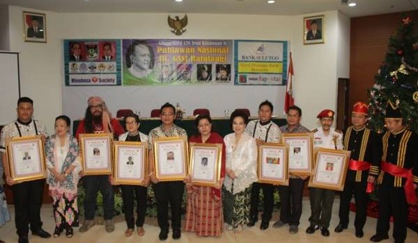 "Berikut Penerima Minahasa Award ""Tuama Leos Keter Wo Nga'asan"""