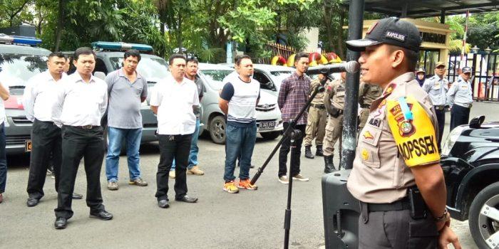 Kapolsek Kelapa Gading Pimpin Apel Gabungan Ops Pekat Jaya 2018