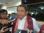 Rudiantara dan Sri Mulyani Lakukan Uji Palapa Ring di Sangihe