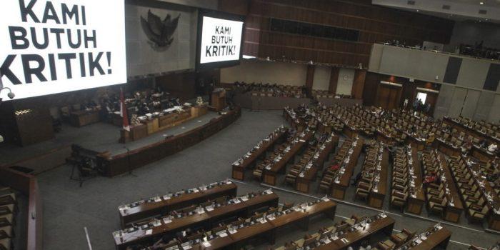 DPR : Boros Anggaran, Kinerja Buruk