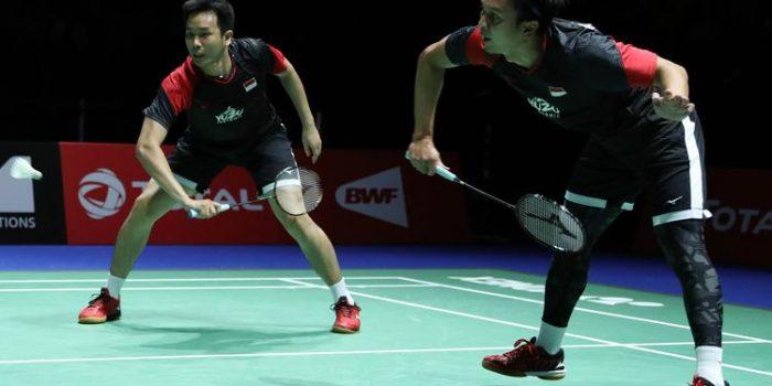 Kalahkan Ganda Jepang, Hendra/Ahsan Rebut Juara Dunia 2019